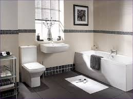 Bathroom : Magnificent Grey White And Yellow Bathroom Black Floor ...
