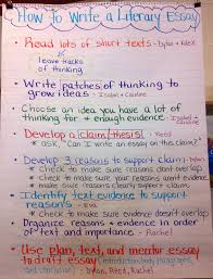 two reflective teachers a peek into our literary essay unit for anyone who knows me you know i love creating charts the students for every subject write their next to their contribution a