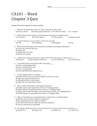 Chapter 3a Quiz Jill Kennel Training