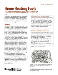 Firewood Btu Chart Home Heating Fuels Should I Switch To Firewood Or Wood
