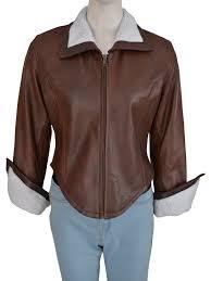 stylish women faux fur jacket brown fur jacket women