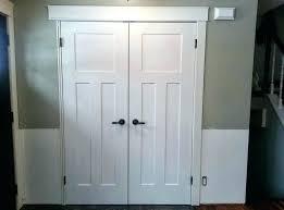 replacing bifold closet doors replace closet