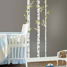 birch trees peel and stick giant wall decals on silver birch wall art stickers with birch trees giant wall decals roommates