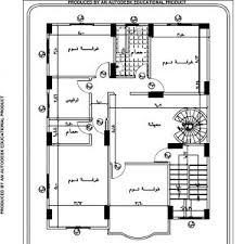 مخطط بناء ارض 450 دورين. فيلا صغيرة تصميم فيلا دورين 120 متر