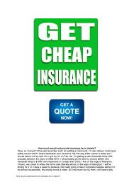 how much would motorcycle insurance be in ontario by lavette9180 issuu