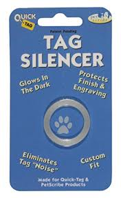 Dog Tag Vending Machine Locations Impressive Amazon Quick Tag CircleShaped Silencer ID Tag Pet