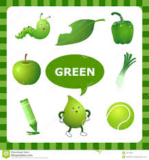 Image result for the color green for kids
