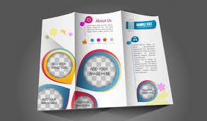 Printable Tri Fold Brochure Template Delectable Brochure Ai Template Free Njswest