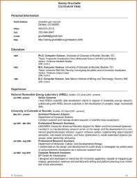 Scientist Resume Examples Best of Scientist Cv Template Tierbrianhenryco