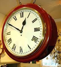 chaney clocks instruments digital wall clock atomic outdoor