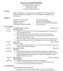 Medical Assembler Resume Sample Nice Here Are Production Worker