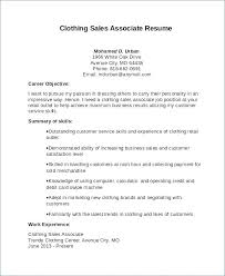 Resume Samples For Retail Sales Associate Resume Examples For Sales