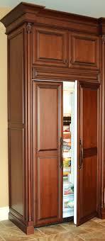 wood panel refrigerator. Modren Refrigerator Wood Panel Refrigerator Refrigerator Cabinet Panels Kitchen  Cabinets Dining Throughout Panel L