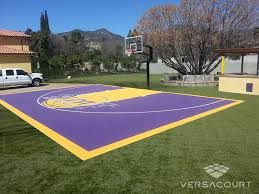 backyard ideas basketball court. plain ideas basketball court installation pleasing versacourt backyard m