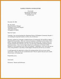 How To Write A Nursing Cover Letters 017 Nursing Cover Letters Samples Sample And Letter Of