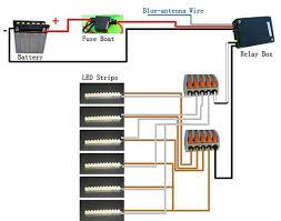 install led lighting strips on motorcycle 6 steps Wiring Diagram Led Strip Lights led lighting strip diagram jpg wiring diagram for led strip lights