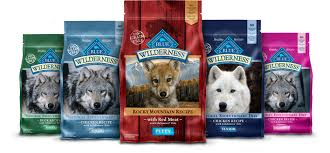 Blue Buffalo Large Breed Puppy Feeding Chart Blue Buffalo Wilderness Large Breed Puppy Chicken Recipe Grain Free Dry Dog Food 24 Lb Bag