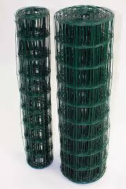 green pvc coated garden border fence fencing wire mesh. green pvc coated steel wire mesh fencing 120cm garden galvanised fence (10m)(746): pvc border g