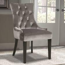 ski furniture chrome velvet dining chair
