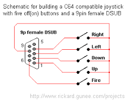 atari controller schematic wire center \u2022 Atari Jaguar how to connect old atari style joystick to bluetooth pcb rh electronics stackexchange com atari 2600 atari 7800 controller schematic