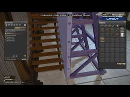 ffxiv changing the orientation of wooden steps and floating items with the wooden loft you