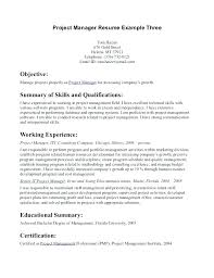Sample Pmp Cover Letter Project Management Resume Samples Cover ...