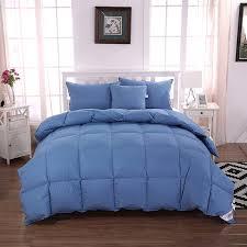 unite down luxury 30 goose down comforter quilt duvet all seasons 100