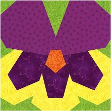 Paper Piecing Flower Flower Piece By Number