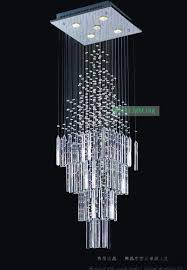 crystal drops for chandeliers stairwell chandelier chrome finish