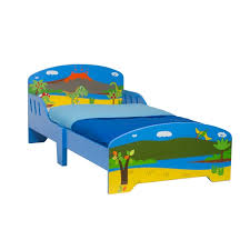 dinosaur wooden toddler bed