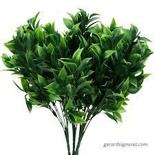 artificial boxwood plants outdoor bushes fake shrubs plastic greenery leave arrangement planter house porch indoor garden