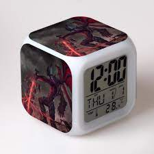League of Legends Dijital Saat 7 Renk Değiştirme Müzik Çalar LOL Aksiyon  Figürleri Oyuncaklar Çalar Saat, çok Fonksiyonlu Saat Satılık! > Saatler