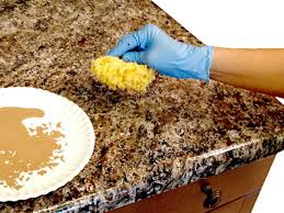 countertop paint colorsHow to Paint Laminate Kitchen Countertops  DIY