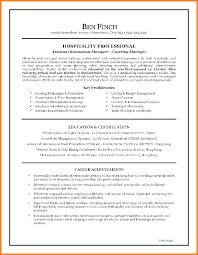 resume hospitality sample hospitality resume template with education example hospitality resume