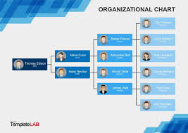 Visio Organisation Chart Template Organizational Chart Template Charts Powerpoint Org Free