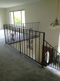 replace stair railing. Stair Railing Cost Replace Staircase To And Balusters . A