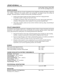 Sample Resume Engineering Resume For Study