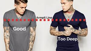 Make Your Shirt How Should A T Shirt Fit Mens Clothing Fit Guide