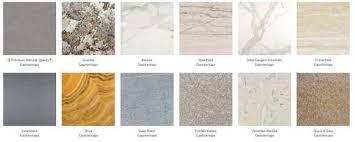 countertop selection granite in naples fl