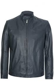 hugo by hugo boss hugo boss lemy leather jacket black