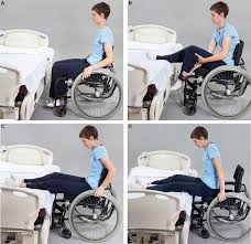 left sided weakness chair transfer patient from bed to wheelchair design ideas