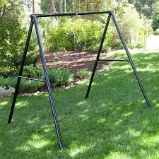 metal swing stand flexible flyer metal lawn swing frame would love to free standing metal porch metal swing stand