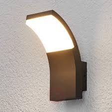 led outdoor wall light timm  lightsie