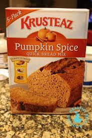 Pumpkin Bread Box Mix