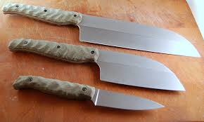 Woolly Mammoth Tooth And Ivory Chef Knife  Weige Knives Custom Custom Kitchen Knives