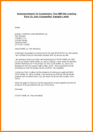 sample letter employee 10 sample letter for employee leaving the company edu techation