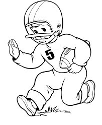 Small Picture Unique Football Player Coloring Pages 20 About Remodel Free