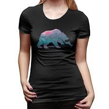 The Mountain Shirt Size Chart Amazon Com Lichang Bear Mountain T Shirts Short Sleeve Tees
