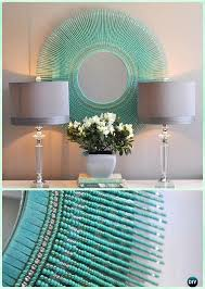 Diy mirror frame ideas Creative Diy Diy Turquoise Bead Mirror diy Decorative Mirror Frame Ideas And Projects Pinterest Diy Decorative Mirror Frame Ideas And Projects picture Instructions