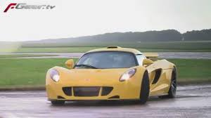 Hennessey Venom GT Specifications - YouTube